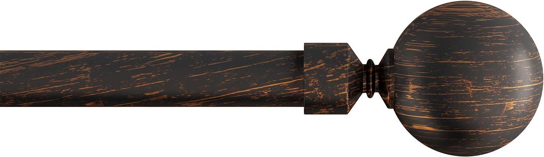 Lavish Home (Brass 3/4-Inch Curtain Rod