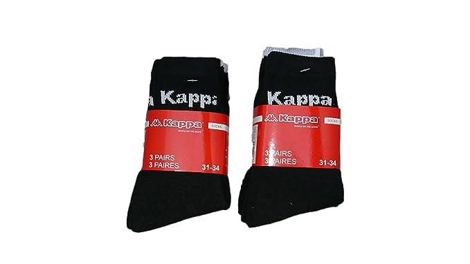 Kappa - Calcetines de deporte - para niño blanco Lot de 9
