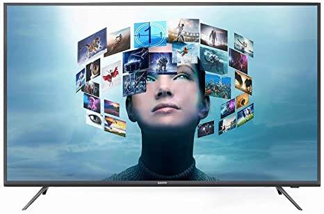 1bc8d15fa06b2 Sanyo 165 cm 4K UHD LED Smart Certified Android TV  Amazon.in  Electronics