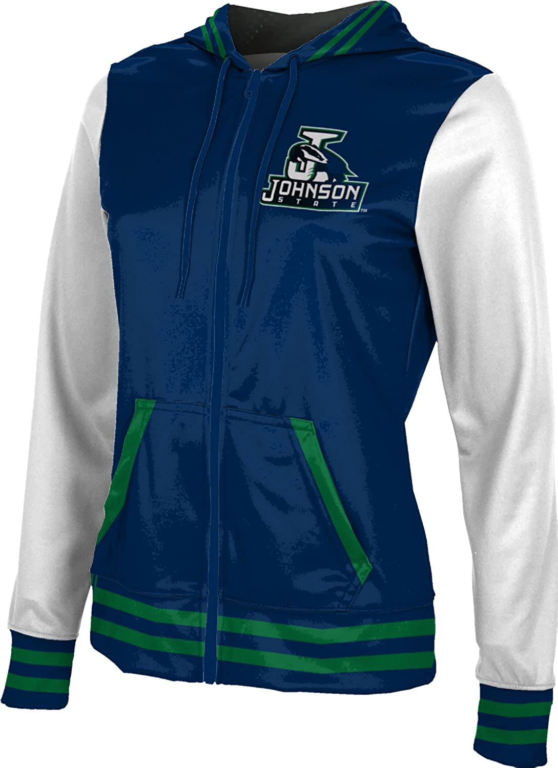 ProSphere Women's Johnson State College Letterman Fullzip Hoodie