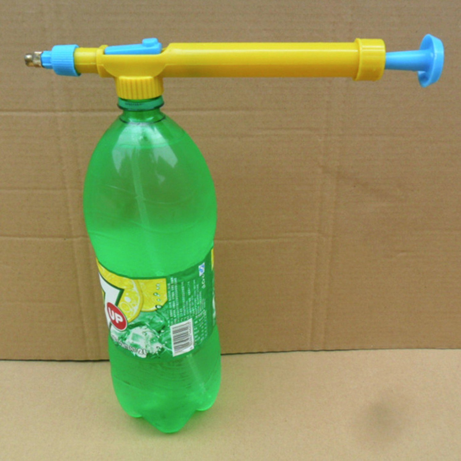 Mini Toy Guns Juice Bottles Interface Plastic Trolley Gun Sprayer Head Water Pressure Outdoor Fun & Sports CCNN Company
