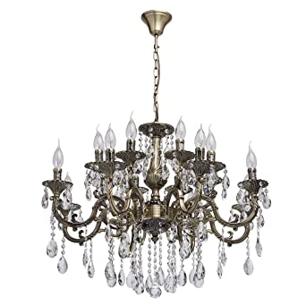 Mw Métal Baroque 685010216 En Suspendu Light Lustre Chandelier Style 7gybf6IvmY