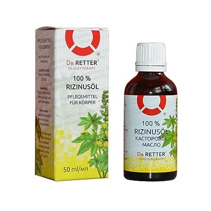 rizinusöl 100% naturreines y puro Castor Oil 50 ml (касторовое масло) mejores aceite