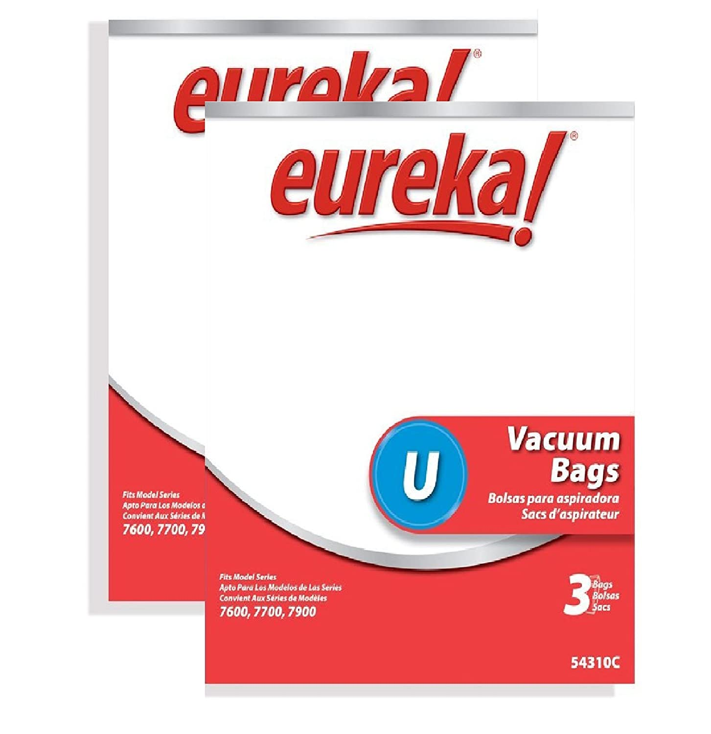 Genuine Eureka Style U Disposable Vacuum Bag 54310
