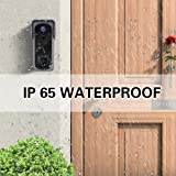 WiFi Video Doorbell Camera with Chime, Two-Way