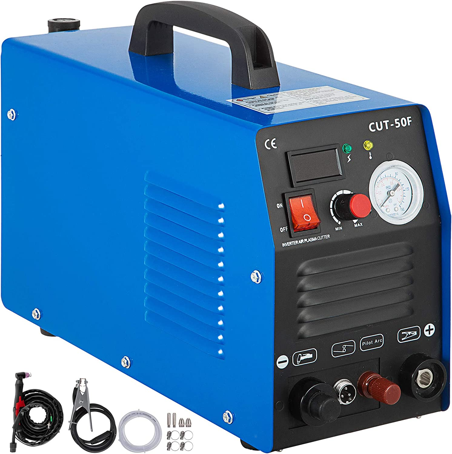 Air Plasma Cutter Machine Pilot Arc 110//220V /& Free Consumable WSD60 Torch In US