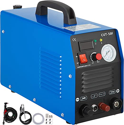 Mophorn 50 Amp Plasma Cutter Non-Touch Pilot Arc Dual Voltage 110 220V Plasma Cutting Machine