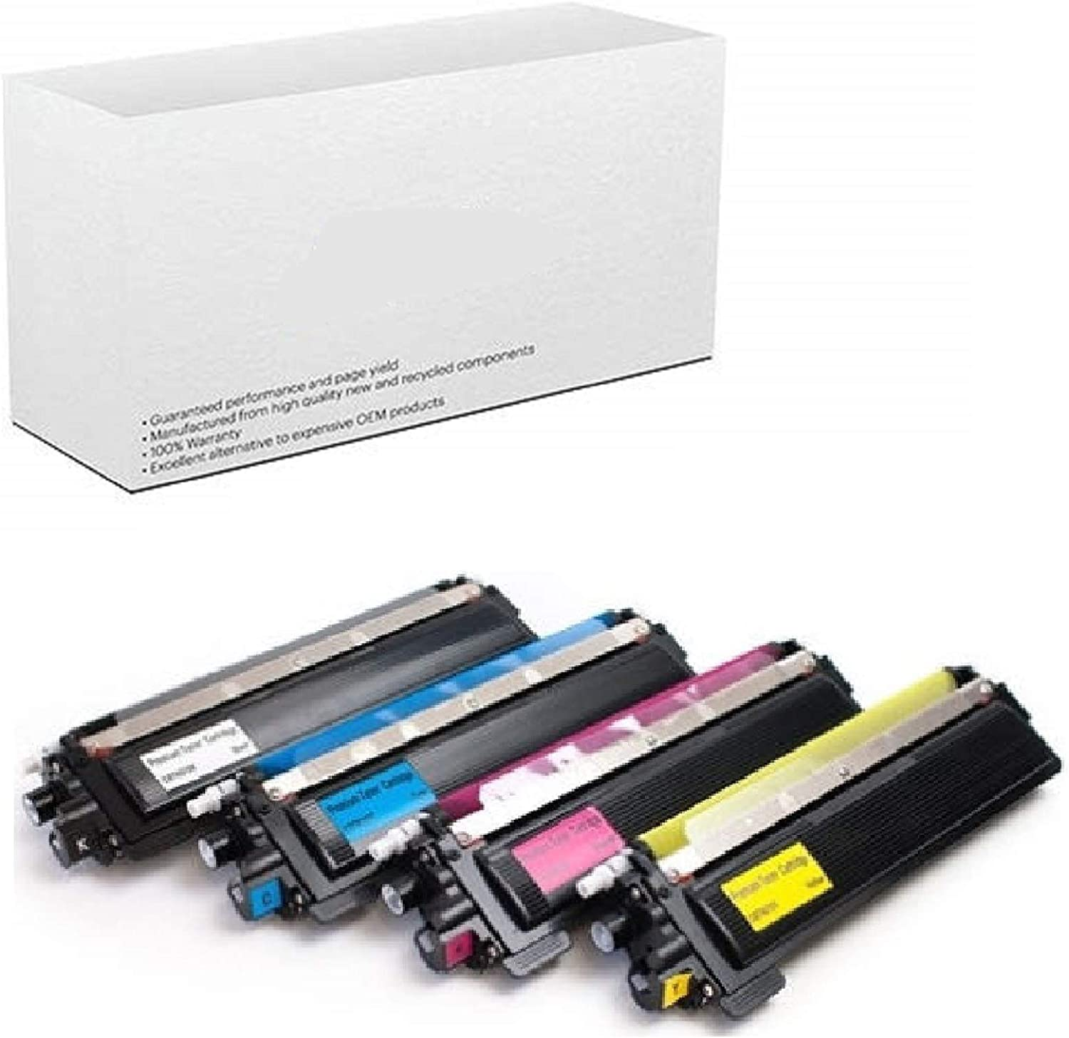 Cyan Toner Color Cartridge for Brother TN-210 TN210 TN 210 HL-3045CN HL-3070CW
