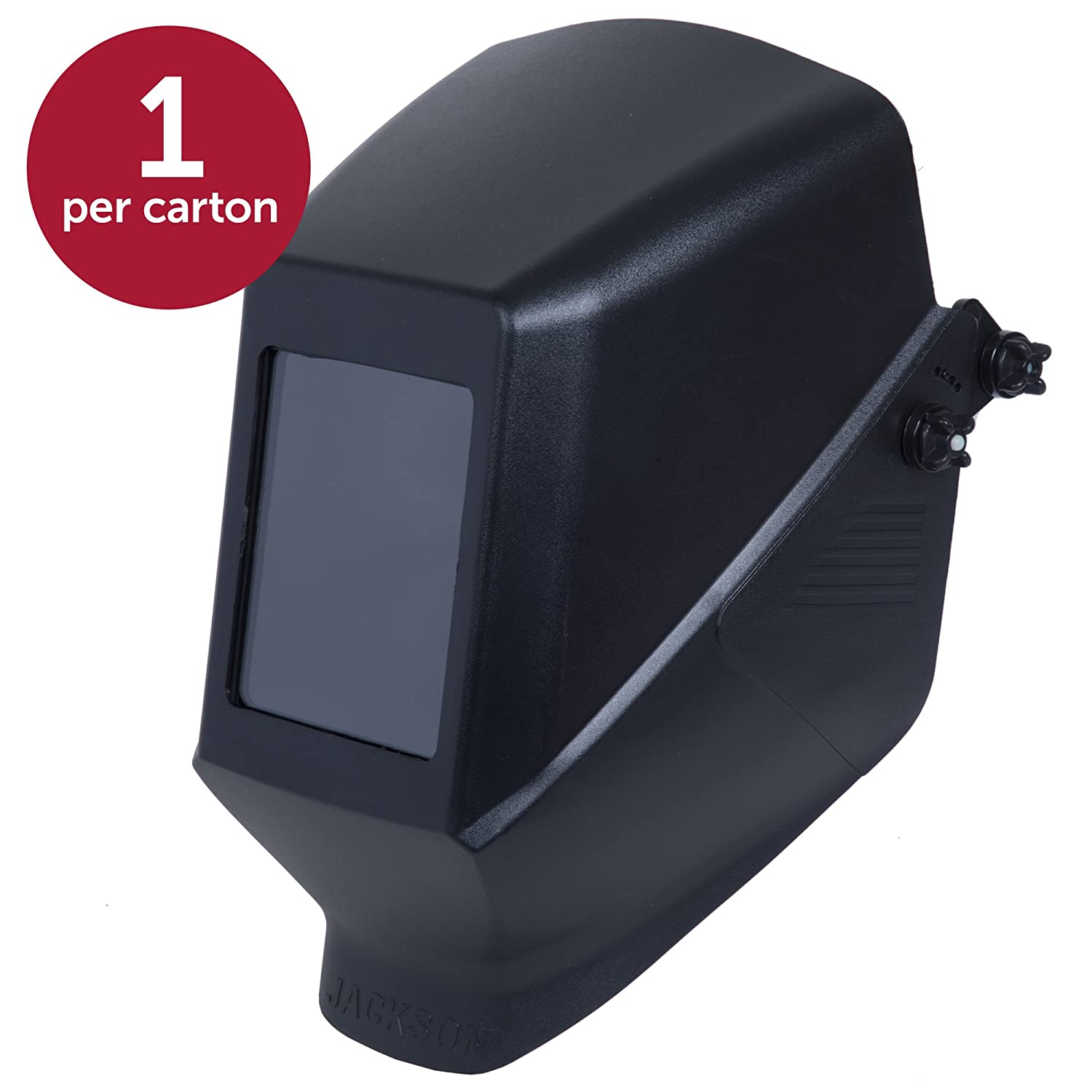 Jackson Safety Fixed Shade HSL 100 Welding Helmet (14975), with 187 Mounting Blades, Black, 4 Units/Case: Amazon.com: Industrial & Scientific