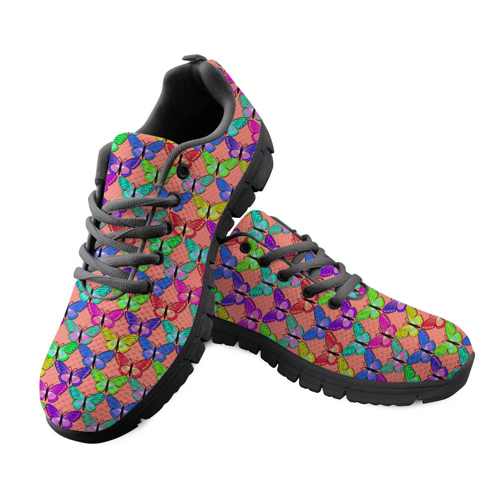 DeePrint 3D Animal Customized Sports Shoes Women Sneakers Flat Casual Shoes