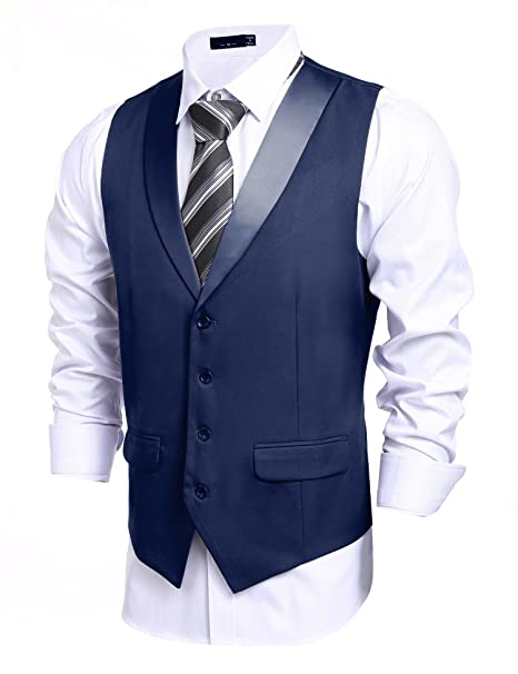 raffinato slim elegante cooshional uomo stile fit Gilet giacca atYYfwxRq