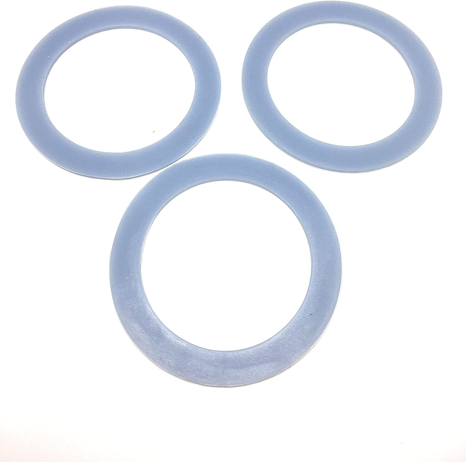 3 Pack Blender Sealing Gaskets Fits Cuisinart Cutting Assembly SPB-456-2 and SPB-456-2B