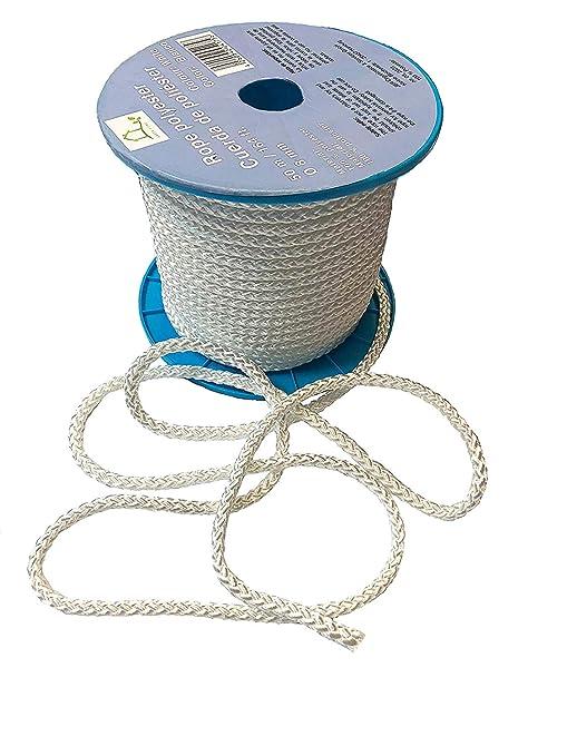 Hummelt/® SilverLine-Rope Universalseil Polyesterseil 5mm 300m wei/ß auf Rolle