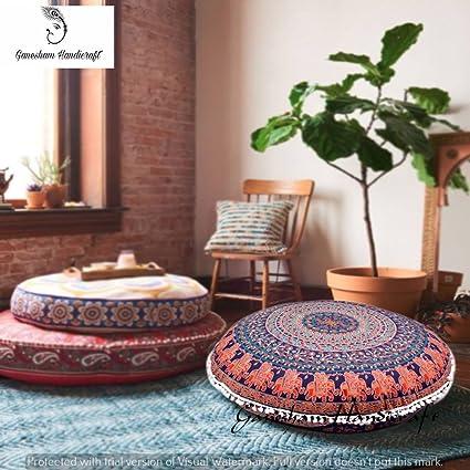 Amazon.com: Ganesham Handicrafts- Psychedelic Mandala Tapestry ...