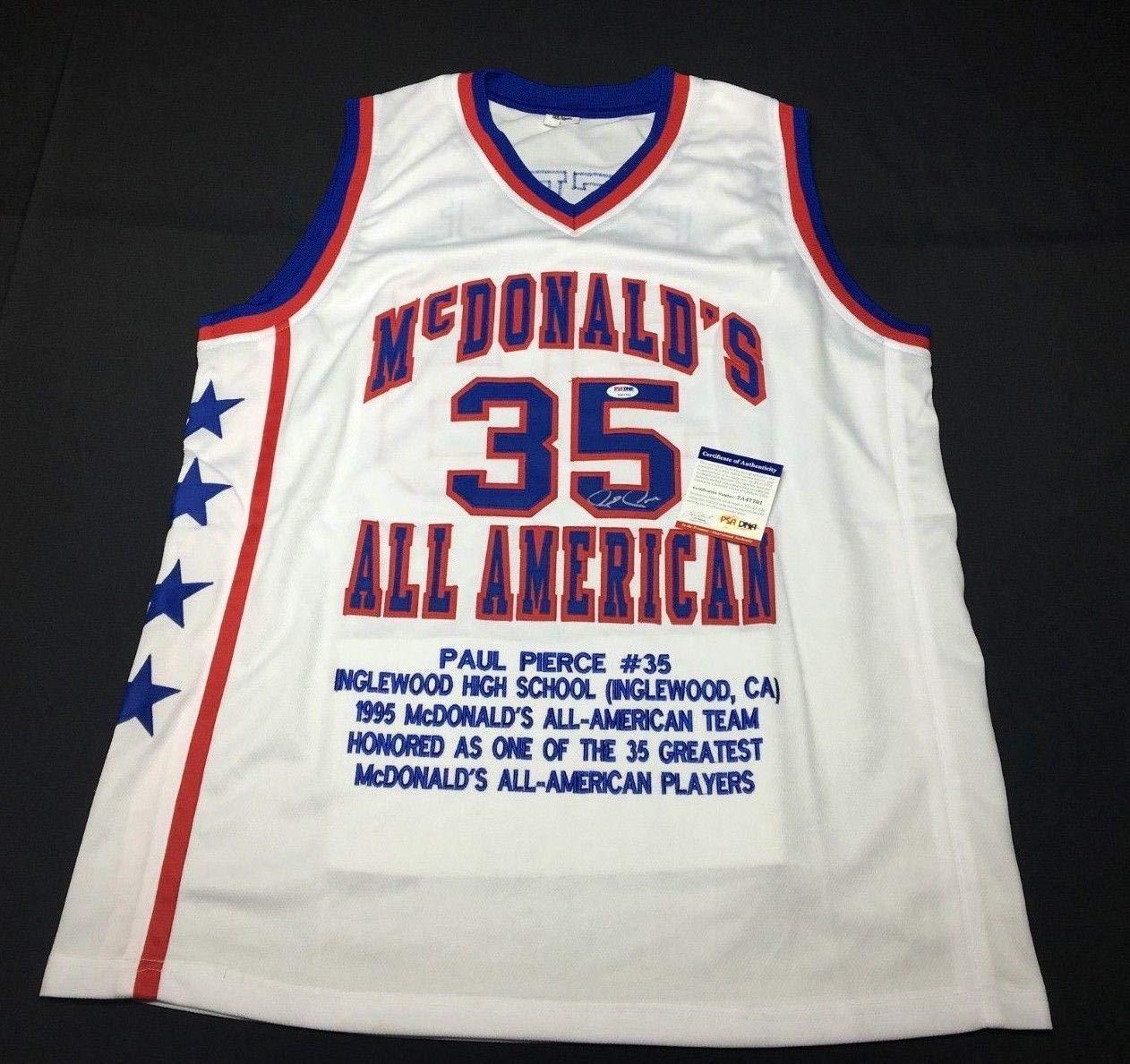finest selection e5f11 8aef6 Paul Pierce Signed McDonald's High School All-American ...