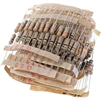 BIlinli Kits de Resistencia de 300 Piezas 1W