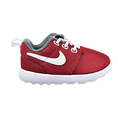 db7d053adce85 Amazon.com  Nike  749430-603  Roshe ONE (TDV) Infants Sneakers NIKEGYM RED  White Dark Grey Rouge GYMM  Shoes