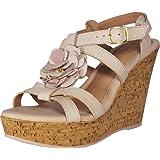 Bruno Menegatti 10255788 Women's Leather Wedge Sandal