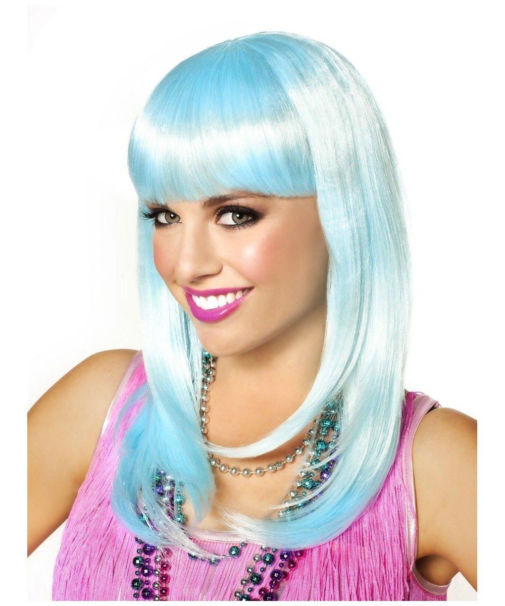 Goddessey So Fine Icy Wig, Blue