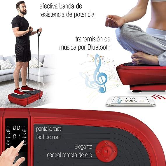 Sportstech Plataforma vibratoria para Adelgazar VP300,tecnología ...