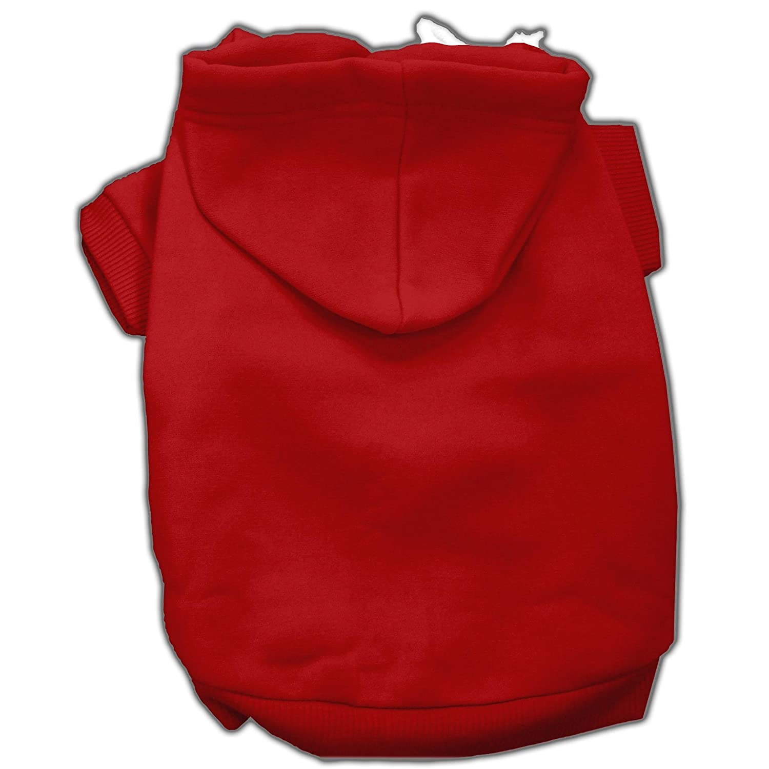 Mirage Pet Products 14-Inch Blank Hoodies, Large, Red