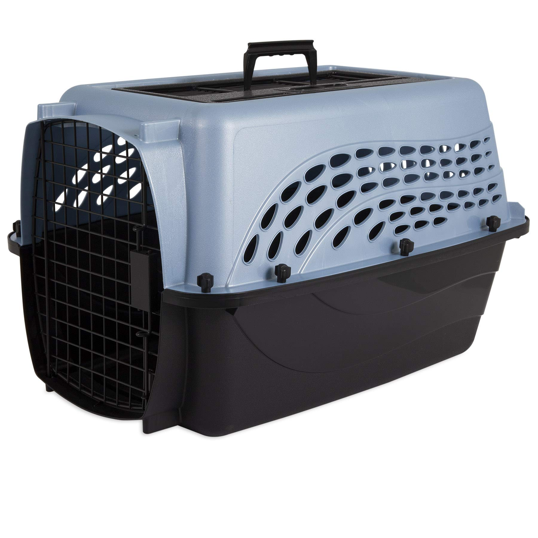 Whisker Doodle 2-Door Easy Load Cat & Dog Kennel-up to 15LBS by Whisker Doodle