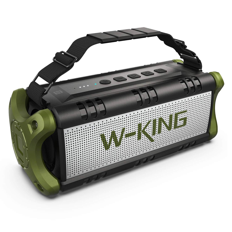 W-KING 8W(8W Peak) Bluetooth Speakers Built-in 8mAh Battery