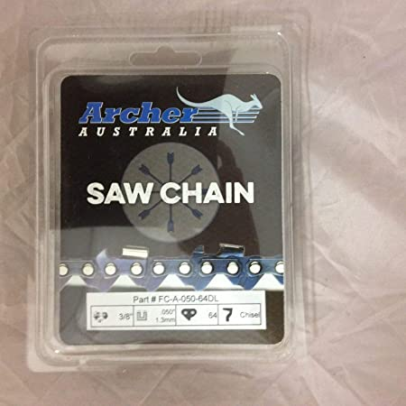 "10 Pack 18/"" Archer Chainsaw Chain .325 pitch FULL CHISEL .063 Gauge 68 DL drive"