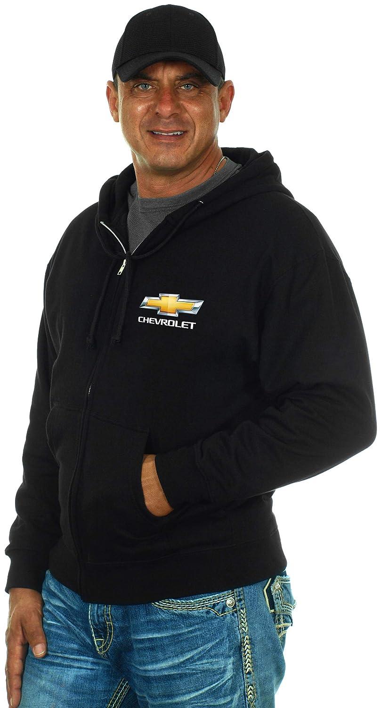 JH Design Chevy Bowtie Zip-up Hoodie /& Chevy Bowtie T-Shirt Combo Gift Set Men