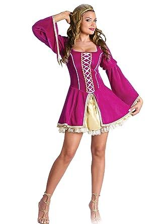 Sexy medieval dress