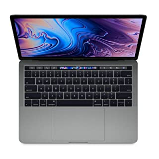Apple MacBook Pro MR9Q2LL/A 13.3-inch with Touch-Bar - Intel Core i7 2.7GHz, 16GB RAM, 256GB SSD - Space Gray (Renewed)