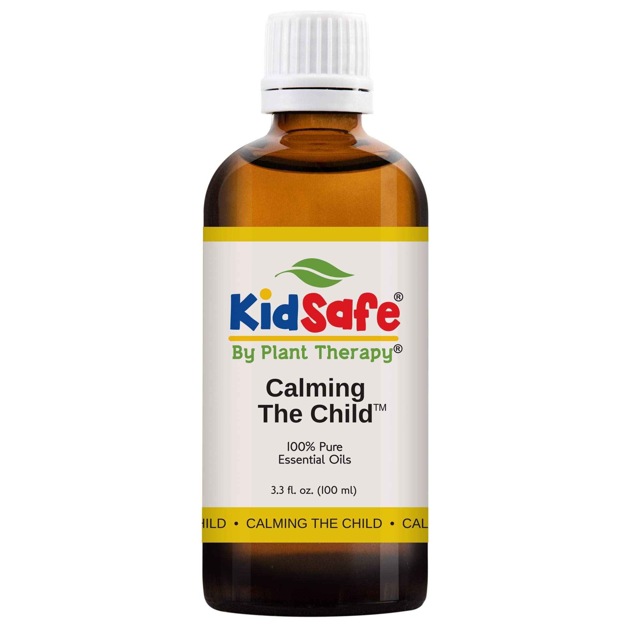 Plant Therapy Essential Oils Calming the Child Synergy - Relaxing and Soothing Blend 100% Pure, KidSafe, Undiluted, Natural Aromatherapy, Therapeutic Grade 100 mL (3.3 oz) by Plant Therapy
