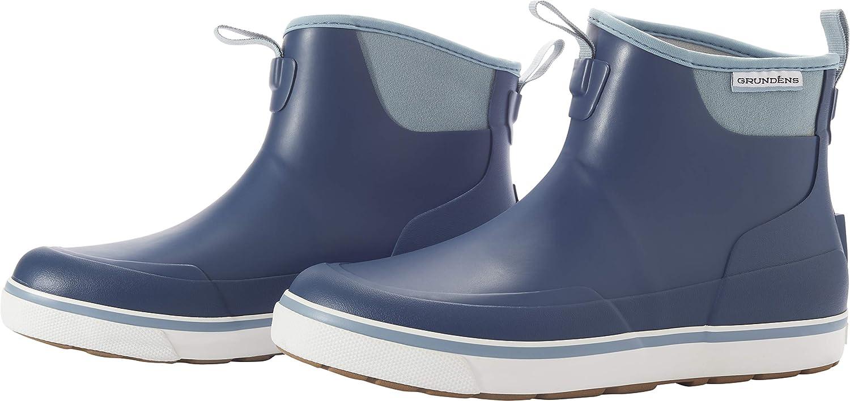 Grund/éns Womens Deck-Boss Ankle Boot