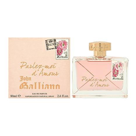 Eau Ml1er Ml De Galliano D'amour X Moi 80 Vaporisateur Pack1 John Parfum Parlez En 3LRAj54