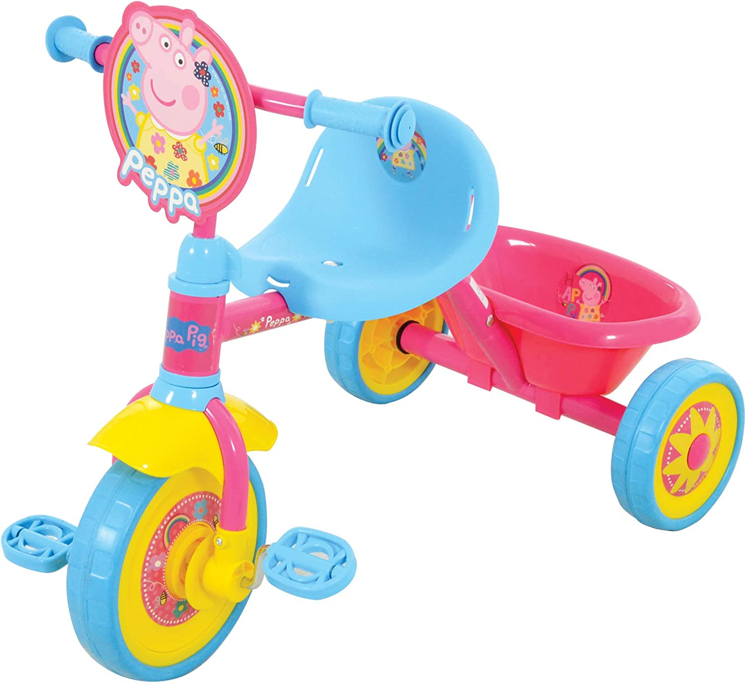 Amazon.com: Peppa Pig M14728 Tricycle, Pink: Toys & Games