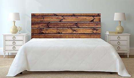 Testata Letto In Legno : Testata letto stampa digitale legno imitazione 100 x60 cm marrone