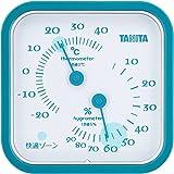 タニタ 温湿度計 アナログ ブルー TT-557 BL 壁掛け 卓上 マグネット