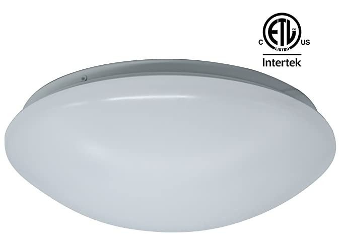 CETL Listed LED Contemporary Flush Mount Ceiling Light Fixture ...