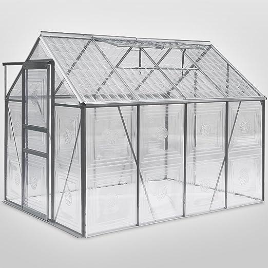 Para invernaderos Glassflower con windows 2 techo, canaletas de ...