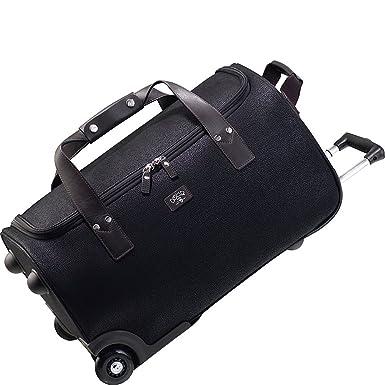 JUMP Solera Bolso de viaje con ruedas negro 55 cm: Amazon.es ...