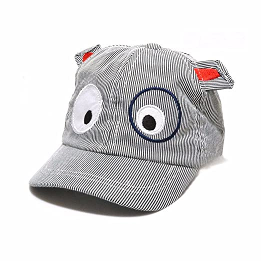 Amazon.com  ❤ Mealeaf ❤ Toddler Hat Baby Boys Girls Infant Newborn Sun  Protection CottCute Cartoon Dog Beret Baseball Cap Beanie  Clothing 42c15e538df7