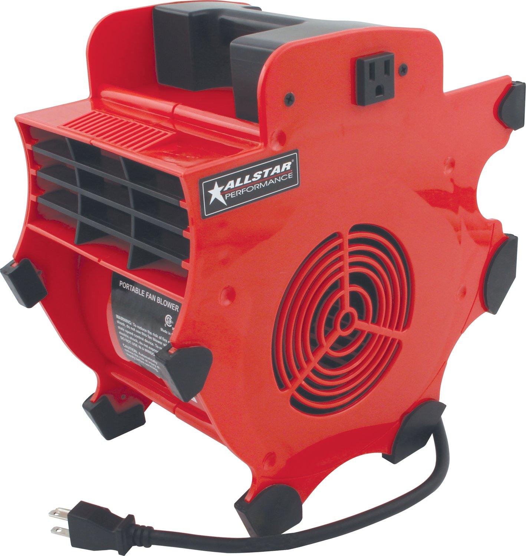 Allstar Performance ALL30002 Red 3 Speed Blower Fan