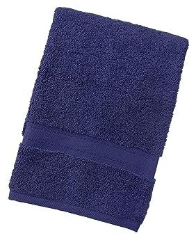 TowelsRus Egyptian 100% algodón súper suave de 550 gsm toalla de baño en azul marino: Amazon.es: Hogar