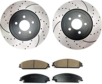See Desc. 2005 2006 Fit Chrysler 300 Max Performance Ceramic Brake Pads F