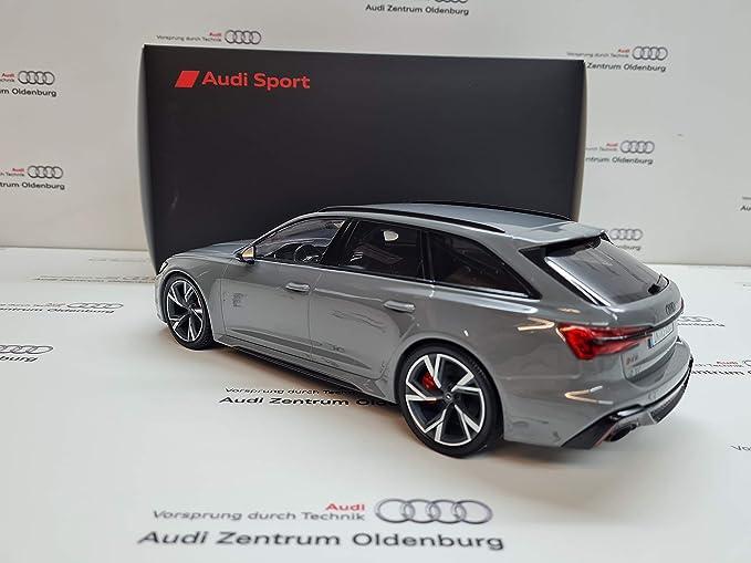 Audi 5012016251 Modellauto Rs6 Avant 1 18 Miniatur Modell Grau Auto