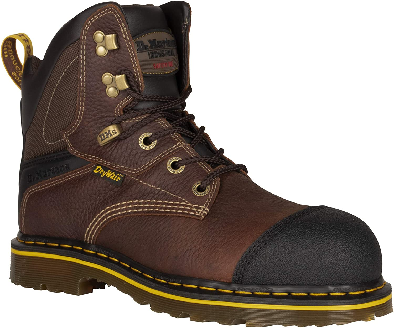 Dr. Martens - Men's Duxford Steel Toe Waterproof Heavy Industry Boots 71MvxHAIGPL
