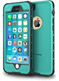 """ImpactStrong Waterproof Case Slim Full Body Protection for Apple iPhone 6 / 6s (4.7"""") Ocean Blue"""