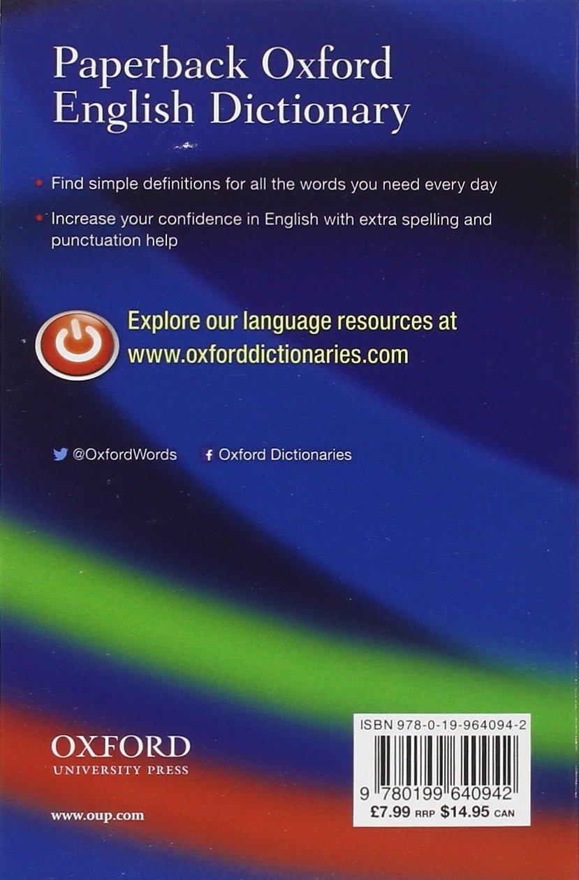 English In Italian: Paperback Oxford English Dictionary