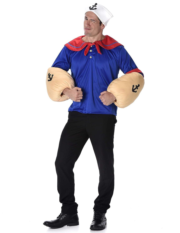 Disfraz de Marinero musculoso Hombre: Amazon.es: Juguetes y juegos