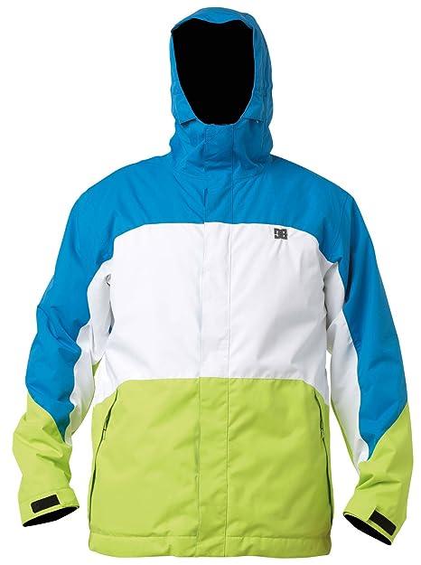 DC Amo 13 Nieve Chaqueta - Negro/Sombra/Columbia Green, Hombre, Color Blue Jay/White/Lime, Tamaño XS: Amazon.es: Deportes y aire libre